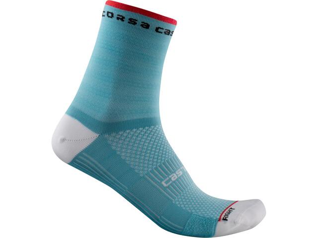 Castelli Rosso Corsa 11 Socks Women, azul